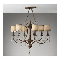 Feiss Clarissa 6 Light Chandelier in Firenze Gold F2726/6FG