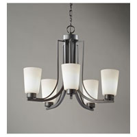 Feiss Weston 5 Light Chandelier in Colonial Iron F2761/5CI