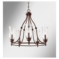 Feiss Pickering Lane 5 Light Chandelier in Heritage Bronze F2783/5HTBZ