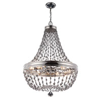 Feiss Malia 12 Light Chandelier in Polished Nickel F2914/12PN
