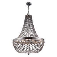 Feiss Malia 9 Light Chandelier in Polished Nickel F2915/9PN