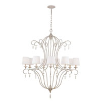 Feiss Caprice 9 Light Chandelier in Chalk Washed F2934/9CHKW