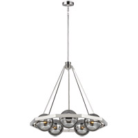 Feiss F3259/5PN Harper 31 inch Polished Nickel Chandelier Ceiling Light