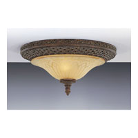 Feiss Casbah 2 Light Flush Mount in Palladio FM169PAL alternative photo thumbnail