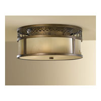 Feiss Justine 3 Light Flush Mount in Astral Bronze FM337ASTB