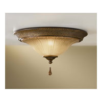 Feiss Celine 2 Light Flush Mount in Firenze Silver FM341FSV