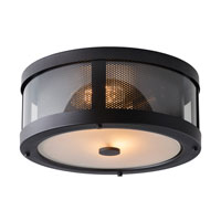 Feiss FM396ORB Bluffton 2 Light 13 inch Oil Rubbed Bronze Flush Mount Ceiling Light alternative photo thumbnail