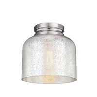 Feiss Hounslow 1 Light Flushmount in Polished Nickel FM408PN