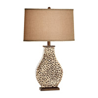 Feiss Independents 1 Light Table Lamp in Architectural Brown 10079ACB photo thumbnail