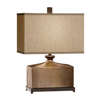 Feiss Independents 1 Light Table Lamp in Cinnamon Glaze and Oil Rubbed Bronze Accents 10088CGZ/ORB photo thumbnail