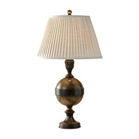 Feiss Riley 1 Light Table Lamp in River Stone 10109RS