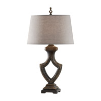 Feiss Westwood 1 Light Table Lamp in Weathered Black 10112WBK photo thumbnail