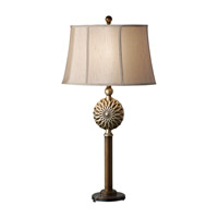 Feiss Davidson 1 Light Table Lamp in Firenze Gold and Silver Leaf Patina 10140FG/SLP