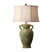 Feiss Garden Relic 1 Light Table Lamp in Mossy Stone 10162MSN photo thumbnail