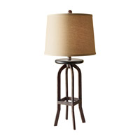 Feiss Kemster 1 Light Table Lamp in Spice 10179SP photo thumbnail