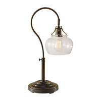 Feiss Urban Renewal 1 Light Table Lamp in Rustic Iron 10197RI photo thumbnail