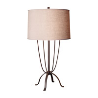 Feiss Shaw 1 Light Table Lamp in Dark Rustic Iron 10198DRI