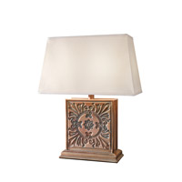Feiss Signature 2 Light Table Lamp in Corn Silk 10232CSK