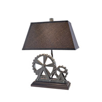 Feiss Signature 1 Light Table Lamp in Midnight Pearl 10238MTP