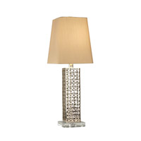 Feiss Signature 1 Light Table Lamp in Platinum 10290PTM
