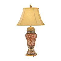 Feiss Independents 1 Light Table Lamp in Aged Gold Leaf 9264AGL photo thumbnail