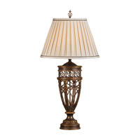 Feiss Opera 1 Light Table Lamp in Firenze Gold 9383FG photo thumbnail