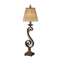 Feiss Independents 1 Light Table Lamp in Firenze Gold 9404FG photo thumbnail