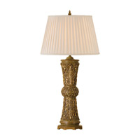 Feiss Florentine Dome 1 Light Table Lamp in Firenze Gold 9604FG