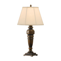 Feiss Lincolndale 1 Light Table Lamp in Astral Bronze 9613ASTB photo thumbnail
