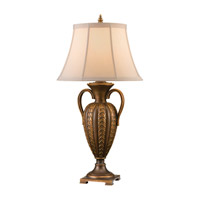 Feiss Ballard Hall 1 Light Table Lamp in Firenze Gold 9722FG