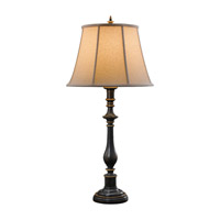 Feiss Maddalyn 1 Light Table Lamp in Antique Brown 9749ANB
