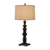 Feiss Gannon 1 Light Table Lamp in Ebony 9763EBY photo thumbnail