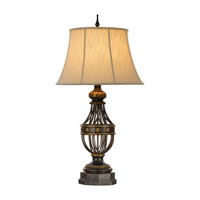 Feiss Augustine 1 Light Table Lamp in Antique Brown 9766ANB photo thumbnail