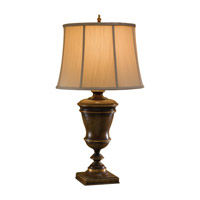 Feiss Broderick 1 Light Table Lamp in Speckled Taupe 9770SPT photo thumbnail