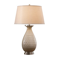 Feiss Addie 1 Light Table Lamp in Light Sand Crackle 9773LSC photo thumbnail