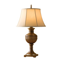 Feiss Park Ridge 1 Light Table Lamp in Silver Leaf Sienna 9876SLS photo thumbnail