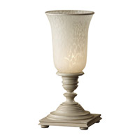 Feiss Zoe 1 Light Table Lamp in Bedpost White 9953BPW photo thumbnail