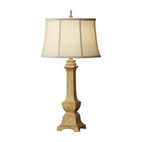 Feiss Porter 1 Light Table Lamp in Ivory Crackle 9992IC