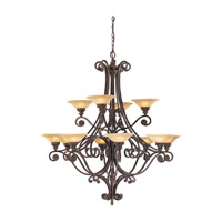 Feiss Casbah 12 Light Chandelier in Palladio F1719/12PAL photo thumbnail