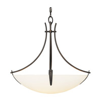 Feiss Boulevard LED Uplight Chandelier in Oil Rubbed Bronze F1889/3ORB-LA