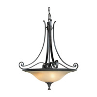 Cervantes 3 Light 24 inch Liberty Bronze Pendant Ceiling Light