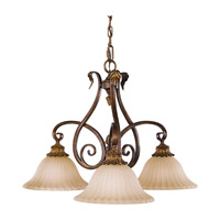 Feiss Sonoma Valley 3 Light Chandelier in Aged Tortoise Shell F2073/3ATS photo thumbnail