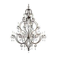 Feiss F2110/8+4+4MBZ Chateau 16 Light 54 inch Mocha Bronze Chandelier - Multi Ceiling Light