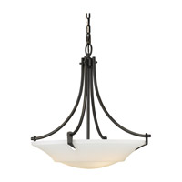 Feiss Barrington 3 Light Uplight Chandelier in Oil Rubbed Bronze F2245/3ORB-F