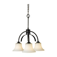 Feiss Barrington 3 Light Chandelier in Oil Rubbed Bronze F2250/3ORB