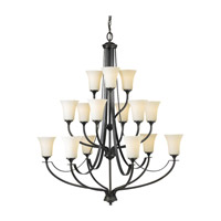 Feiss Barrington 15 Light Chandelier in Oil Rubbed Bronze F2254/6+6+3ORB