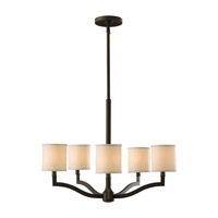 Feiss Stelle 5 Light Chandelier in Oil Rubbed Bronze F2519/5ORB