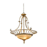 Feiss Bancroft 3 Light Chandelier in Oxidized Silver Leaf F2542/3OSL photo thumbnail