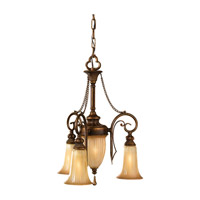 Celine 4 Light 16 inch Firenze Silver Mini Chandelier Ceiling Light