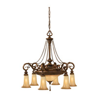 Feiss F2546/6+2FSV Celine 8 Light 24 inch Firenze Silver Chandelier Ceiling Light